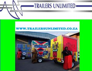 1800 x 1600 x 2000 TRAILERS UNLIMITED BUDGET CATERING TRAILER.