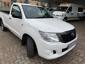 2014 Toyota Hilux single cab HILUX 2.0 VVTi A/C P/U S/C