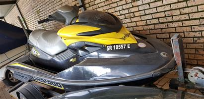 Jetski: SeaDoo 2007 RXP 215 Horse power 2 seater. With Trailer