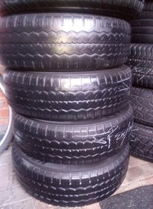 215/65R16C PIRELLI TYRES FOR SALE