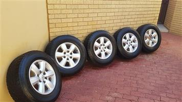 Fortuner / Hilux Rims and Tyres