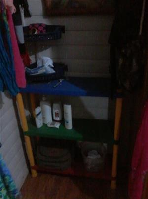 3 Tier plastic shelf for sale