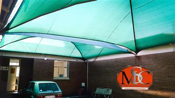Shadenet Carports (Supply and Fit)