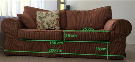 Comfortable 3 seater couch