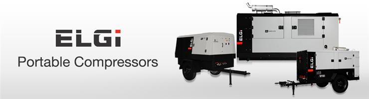 Portable Air Compressors - ELGi Always Better