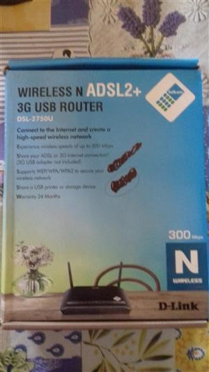 ADSL routers for sale