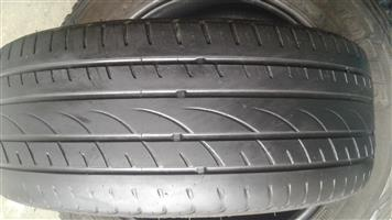 205 45 16 inch tyres R450 each