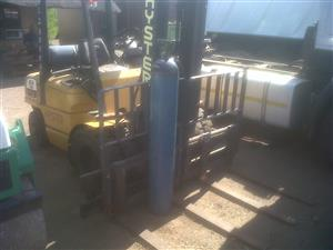 Hyster Double fork forklift 3.5 Ton