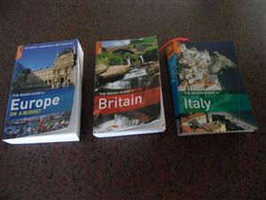 EUROPE, BRITAIN AND ITALY - ROUGH GUIDES