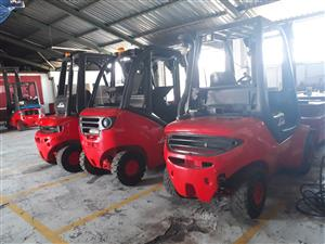 Good Condition Linde Forklifts For Sale - 2.5