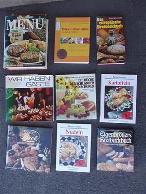 German Cook and Baking Books - nine books in excellent condition