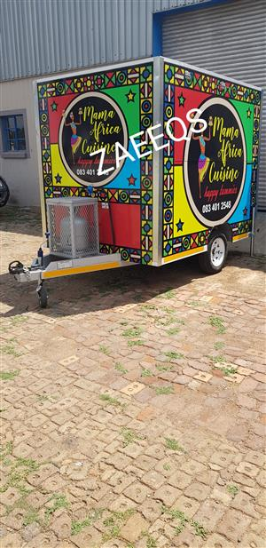 Food Trailers...Brand New+Fully Equipped!