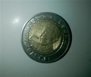 Nelson Mandela coin