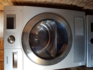 Samsung Stainless Steel Silver 8KG Condenser Tumble Dryer