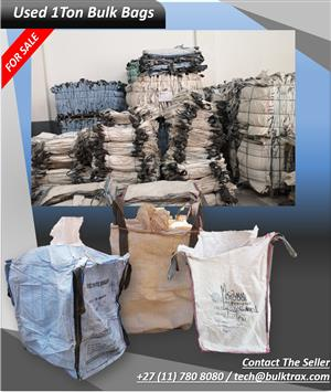 Used 1 Ton Bulk Bags for Sale