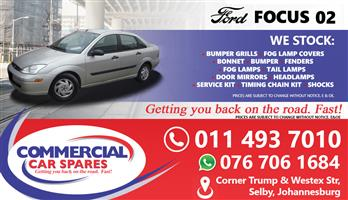 Ford Focus 2002 Parts and spares for sale