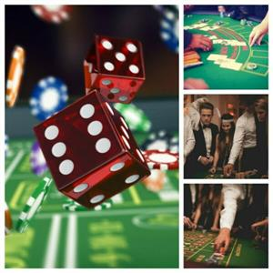 Casino Party hire - Gaming Events Fun Casino with blackjack,roulette,poker and dice tables! Pasino Parties with Free Decor