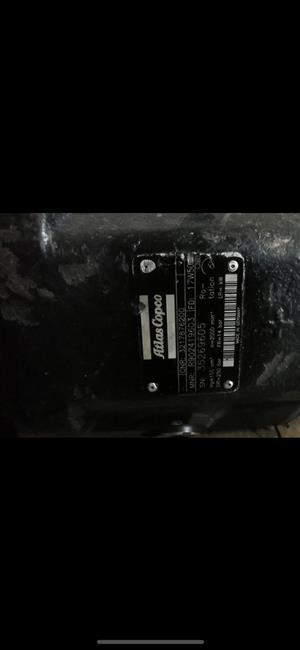 hydraulic pump atlas copco 100 cm