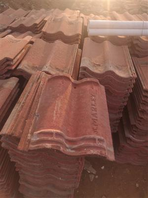 800 Double Roman Marley Roof Tiles And 1900 Double Roman