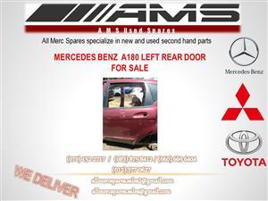 MERCEDES A180 LEFT REAR DOOR FOR SALE