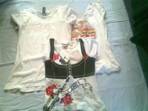 Black and white tops for sale