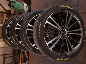 Toyota 86 high spec 17inch Rims with tyres