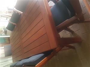 8 Seater Kiaat Patio set