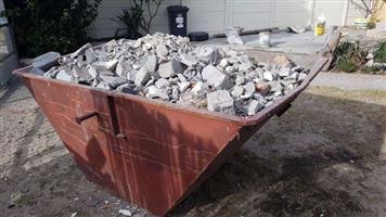 2 Cube Mini Skip Bin Hire (2 Days) for all your Building , Garden and Household Rubble.