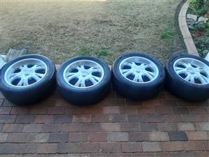 20 Inch Racing Hart Concepts Mags with Tyres 295/45/R20