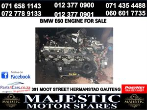 Bmw e60 engine for sale