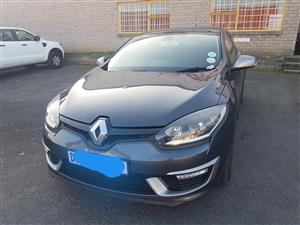 2015 Renault Megane coupe 97kW turbo GT Line