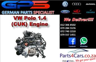 VW Polo 1.4 (CUK) Engine for Sale