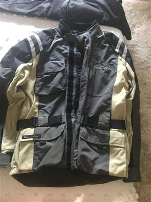Motorbike jackets and pants for sale