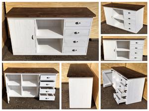 Dresser Chunky Cottage series 1625 - Two toned