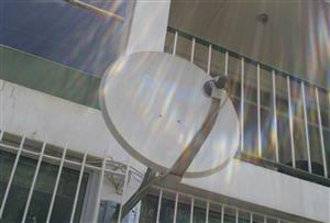 Satellite Dish 60cm Diameter, Complete with LNB. Second hand. In working condition. I am in Orange Grove.