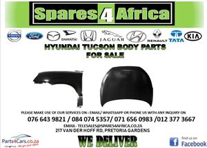 HYUNDAI TUCSON BODY PARTS