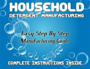 55 Formula Detergent Manufacturing Guide With Suppliers List