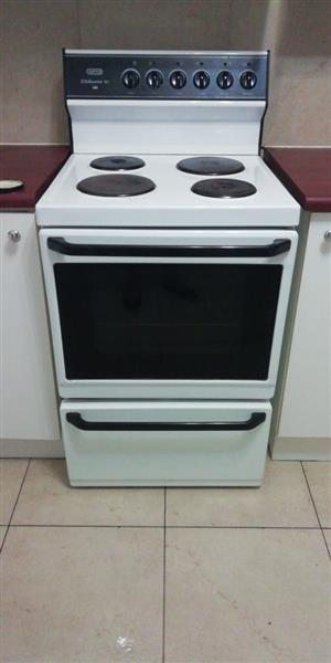 Defy stand alone stove, oven and warmer for sale.