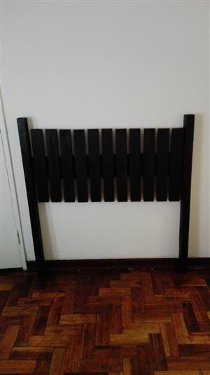 Solid wood head board