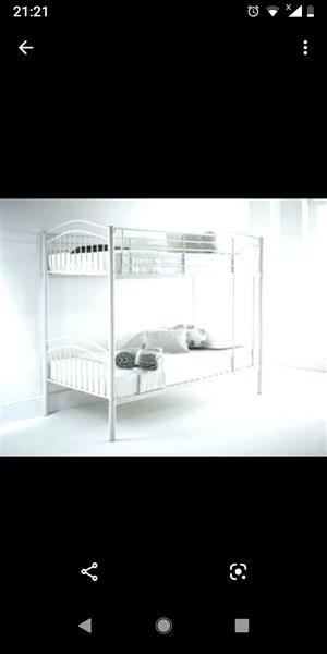 Iron kids bunk beds