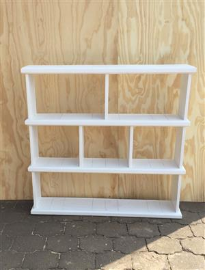 Bookshelf Farmhouse series 1300 Slimline - White washed
