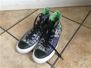 All Star - Joker and Batman Themed Shoes