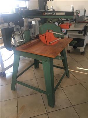 Radial Arm Saw, DE WALT, DW1501, 220Volt for sale  Other Gauteng