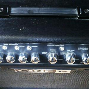 Spider 15 iv guitar amp