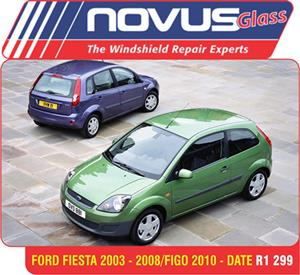 Wind Screen , Windscreen Ford Fiesta 2003-2008/Figo 2010-Date from R1299.00
