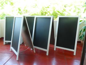 Chalkboards, A-Framed New R550...Print Options Available logo , large print  opt