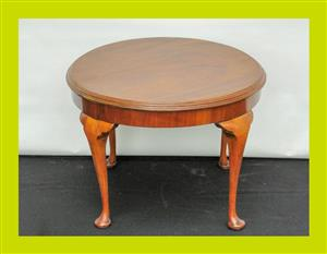 Vintage Circular Mahogany Occasional Table - SKU 106