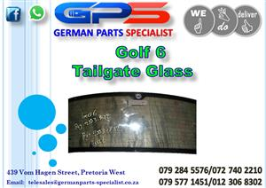 Used VW Golf 6 Tailgate Glass for Sale