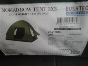3x3m new canvas tent for sale