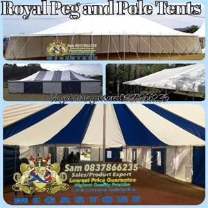 Royal Peg and Pole Tents Sale